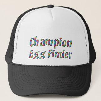Easter Egg Hunt Champion Egg Finder Funny Colorful Trucker Hat
