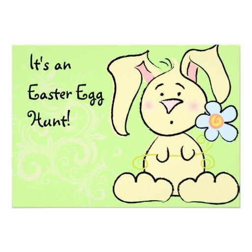Easter Egg Hunt Custom Invitation