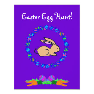 Easter Egg Hunt! Personalized Announcement