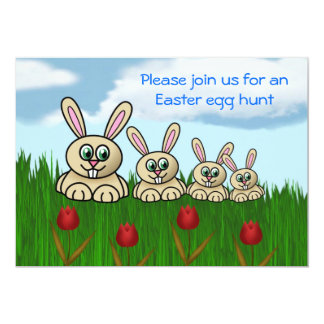 Easter Egg Hunt Invitation Easter fun Easter bunny