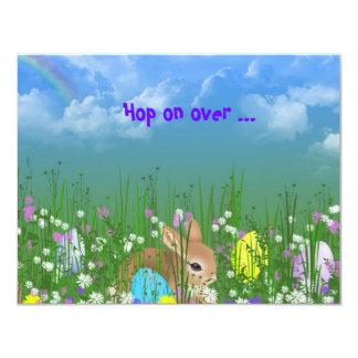 "Easter Egg Hunt Invite 4.25"" X 5.5"" Invitation Card"