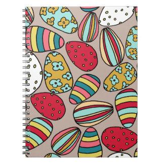 Easter Egg hunt Spiral Notebooks