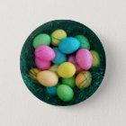 Easter Egg Nest Button