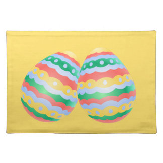 Easter Egg Place Mats Easter Party Decor