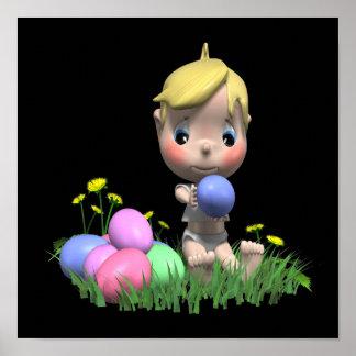 Easter Egg Print