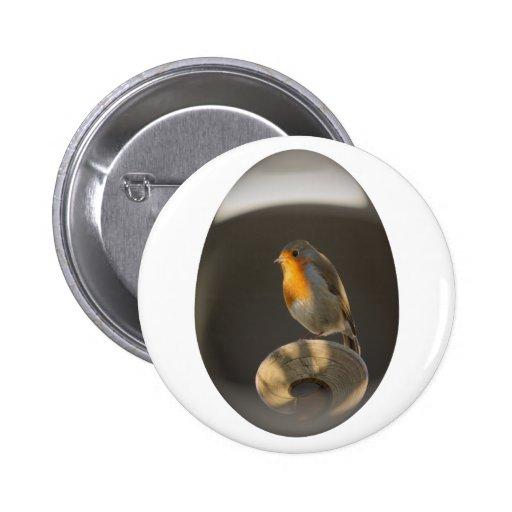 easter egg robin pin