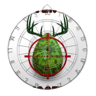 easter egg shooter, funny easter deer gift desgin dartboard