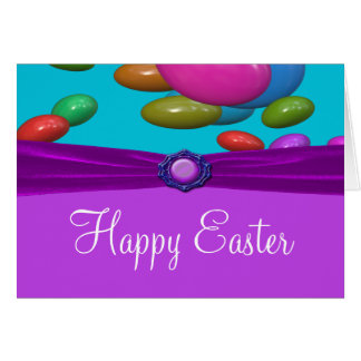 Easter Egg Spectacular Size A7 Greeting Card