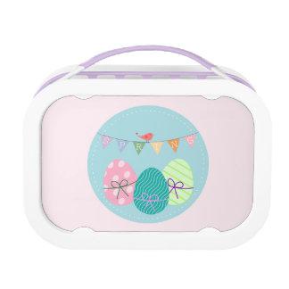 Easter Egg Springtime Lavender Blush Lunchboxes