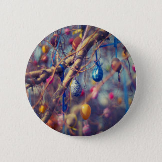 Easter-eggs 6 Cm Round Badge