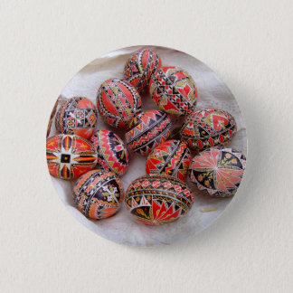Easter Eggs 6 Cm Round Badge