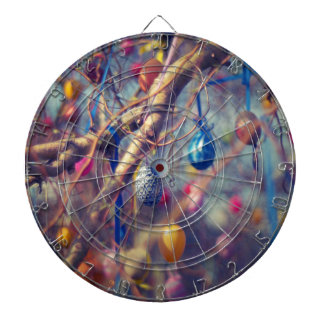Easter-eggs Dartboard With Darts