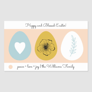 Easter Eggs Easter Gift Stickers