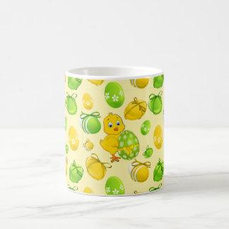 Easter Eggs Little Chicken Pattern Coffee Mug