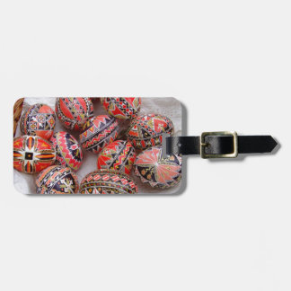 Easter Eggs Luggage Tag