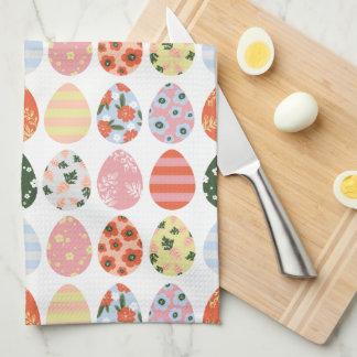 Easter Eggs Tea Towels