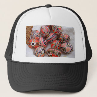 Easter Eggs Trucker Hat