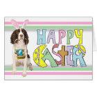 Easter English Springer Spaniel Card