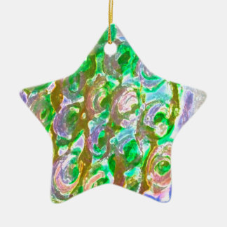 Easter evening roses design christmas tree ornaments