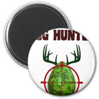 Easter expert Hunter, egg deer target shooter, fun Magnet