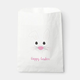 Easter Favor Bags with Bunny