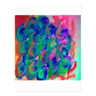 Easter Flowers Image Design Pink Postcard