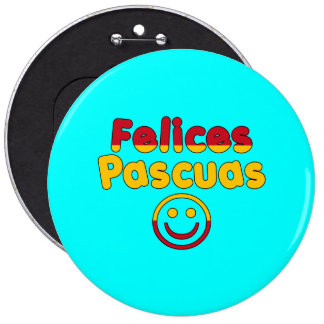 Easter Gifts for Spanish Speakers Felices Pascuas Pin