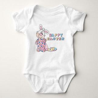 Easter Girl Bunny Love in Pink Baby Bodysuit