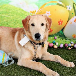 Easter - Golden Retriever - Augie Photo Sculpture