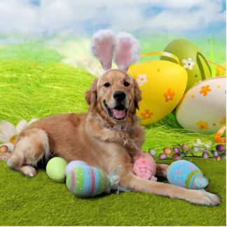 Easter - Golden Retriever - Frank Cut Out