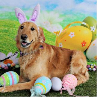 Easter - Golden Retriever - Molly Photo Sculptures