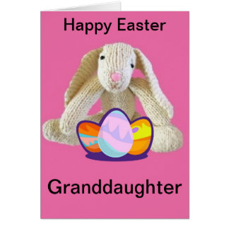 Granddaughter easter gifts t shirts art posters other gift easter granddaughter bunny rabbit eggs card negle Gallery