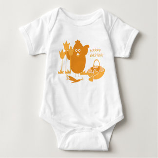 Easter Greeting Baby Bodysuit