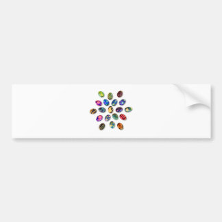 Easter Greeting Card Bumper Sticker
