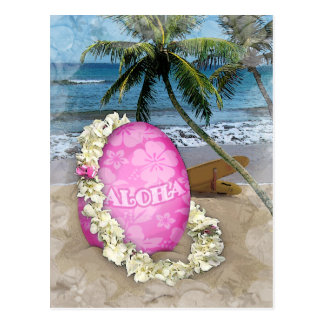Easter Greeting Hawaiian Style Postcard