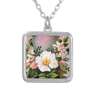 EASTER GREETINGS 5 SILVER PLATED NECKLACE