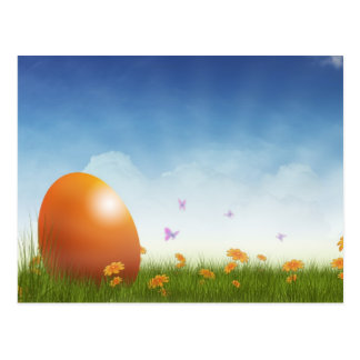 EASTER GREETINGS CARD POSTCARD