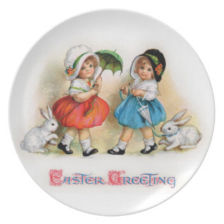 Easter Greetings Party Plates