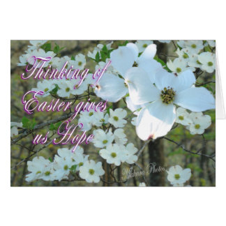 Easter Hope-customize Greeting Card