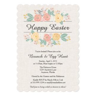 """Easter Invitation, Brunch, Easter Egg Hunt Invite 5"""" X 7"""" Invitation Card"""
