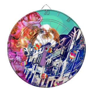 Easter is coming to town. dartboard