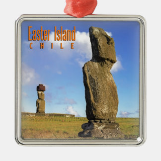 Easter Island Chile Christmas Ornament