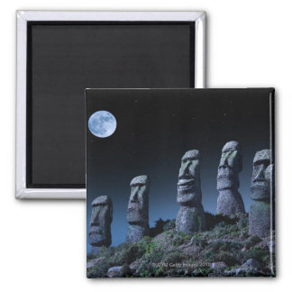 Easter Island Heads Magnet