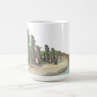 Easter Island Moai Coffee Mug