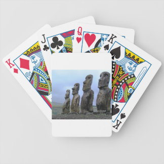 Easter-Island Poker Deck