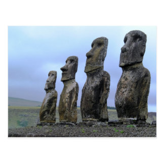 Easter-Island Postcard