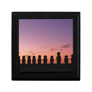 Easter Island Rapa Nui  Chile South America Gift Box