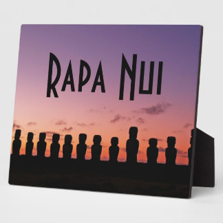 Easter Island Rapa Nui  Chile South America Plaque