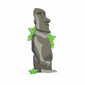 Easter Island Standing Photo Sculpture