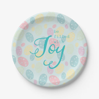 Easter Joy Paper Plates